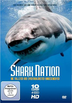 Shark Nation - Die tollsten und unglaublichsten Haigeschichten (4 DVDs)