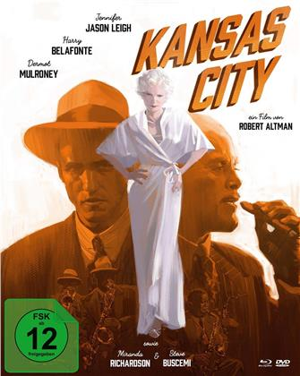 Kansas City (1996) (Mediabook, Blu-ray + DVD)