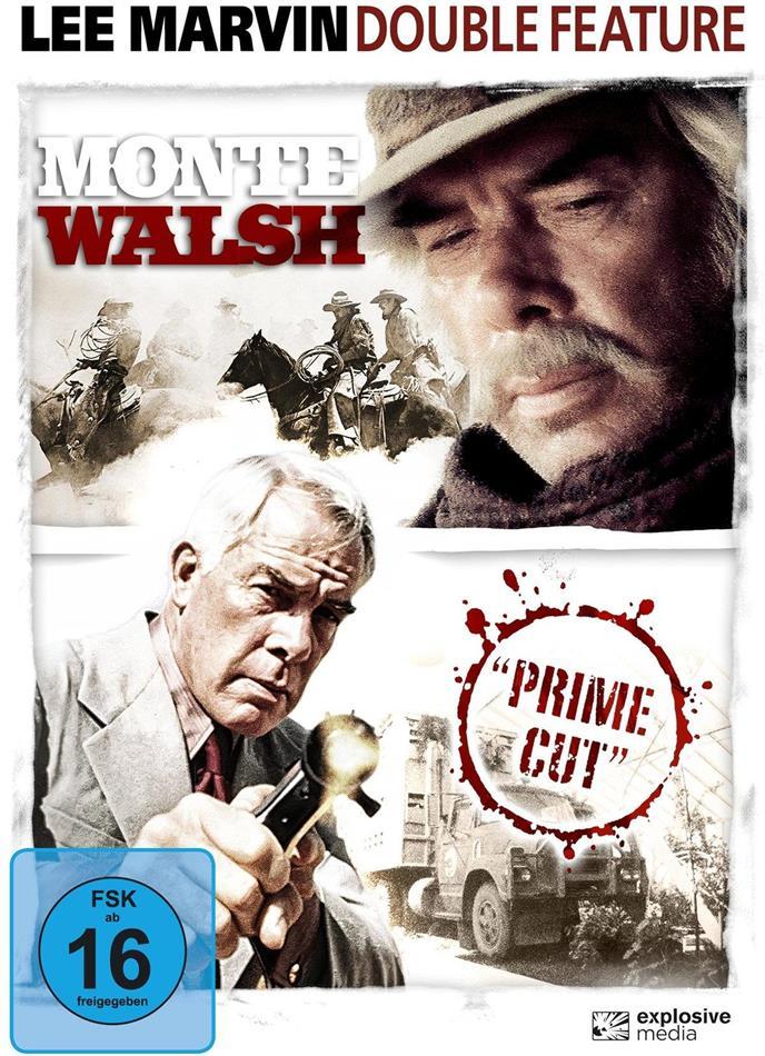 Lee Marvin Double Feature - Monte Walsh (1970) / Prime Cut (1972) (2 DVDs)
