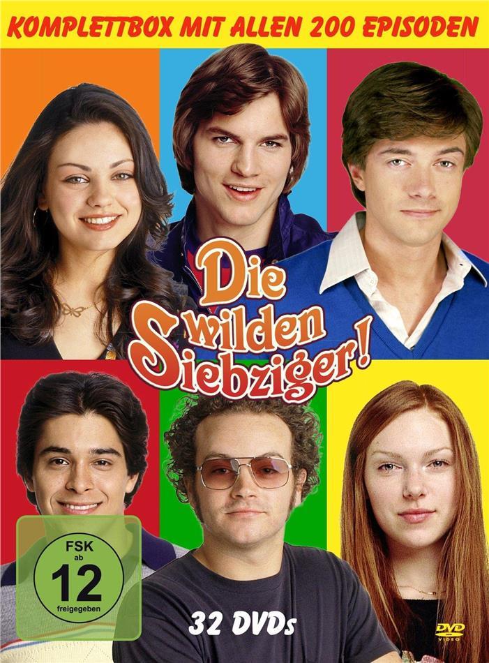 Die wilden Siebziger! - Staffel 1-8 (32 DVDs)