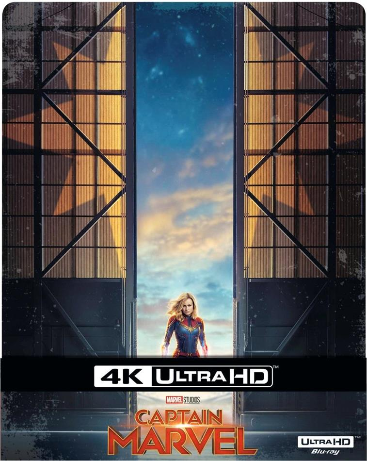 Captain Marvel (2019) (Limited Edition, Steelbook, 4K Ultra HD + Blu-ray)
