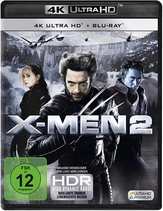 X-Men 2 (2003) (4K Ultra HD + Blu-ray)