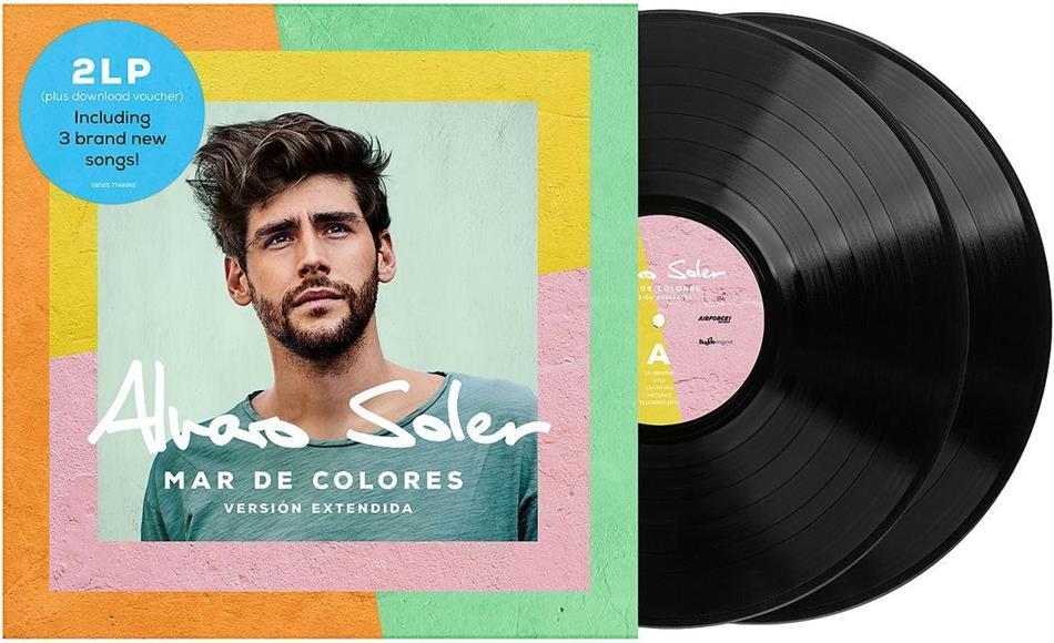 Alvaro Soler - Mar De Colores (2019 Reissue, Extended Edition, LP + CD)