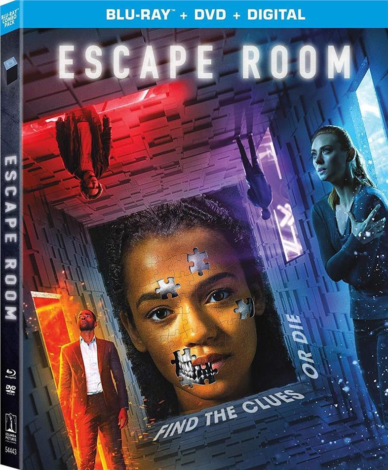 Escape Room (2019) (Blu-ray + DVD)