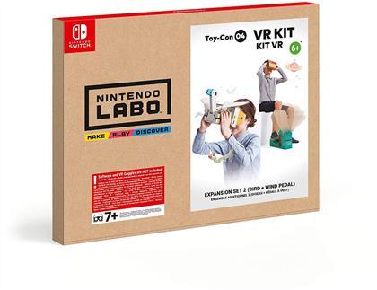 Nintendo Labo: Toy-Con 04 - Erweiterungspaket 2 (Vogel + Windpedal)