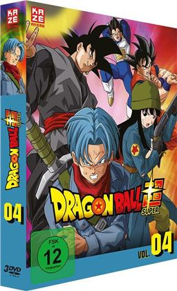 Dragon Ball Super - Vol. 4: Arc 4 - Trunks aus der Zukunft 1/2 (3 DVDs)