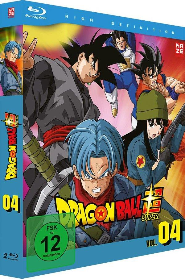 Dragon Ball Super - Vol. 4: Arc 4 - Trunks aus der Zukunft 1/2 (2 Blu-rays)