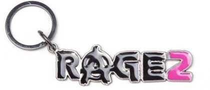 Rage 2 - Metal Keychain