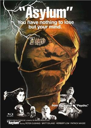 Asylum (1972) (Cover A, Limited Edition, Mediabook, Uncut, Blu-ray + DVD)