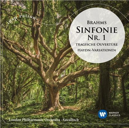 Wolfgang Sawallisch, Johannes Brahms (1833-1897) & The London Philharmonic Orchestra - Symphonie Nr. 1 / Haydn-Variationen / Tragische Ouvertüre