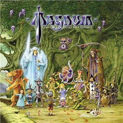 Magnum - Lost On The Road To Eternity (2019 Reissue, Green & White Vinyl, 2 LPs + CD)
