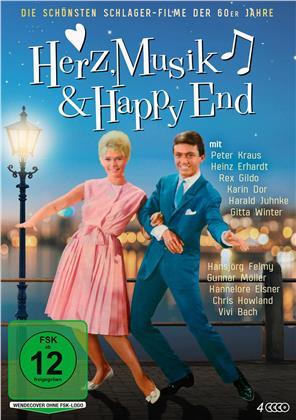 Herz, Musik & Happy End - Die schönsten Schlager-Filme der 60er Jahre (4 DVDs)