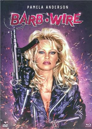Barb Wire (1996) (Cover B, Limited Edition, Langfassung, Mediabook, Unrated, Blu-ray + DVD)