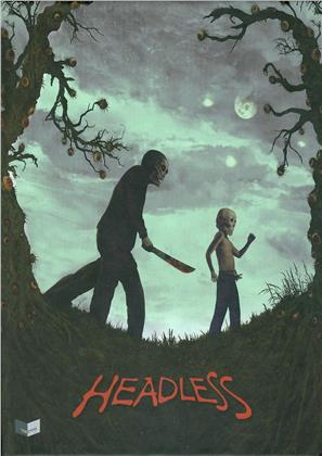 Headless (2015) (Cover B, Limited Collector's Edition, Mediabook, Uncut, Blu-ray + DVD)