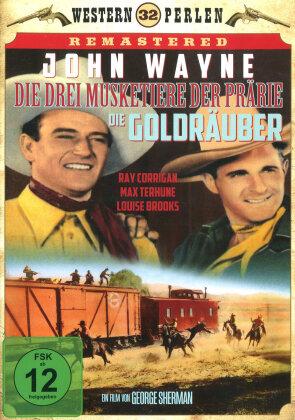 Die drei Musketiere der Prärie - Die Goldräuber (1938) (Western Perlen, s/w)