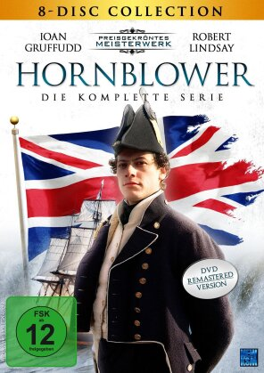 Hornblower - Die komplette Serie (Preisgekröntes Meisterwerk, Remastered, 8 DVDs)