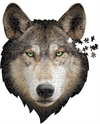 Wolf - 550 Teile Shape Puzzle