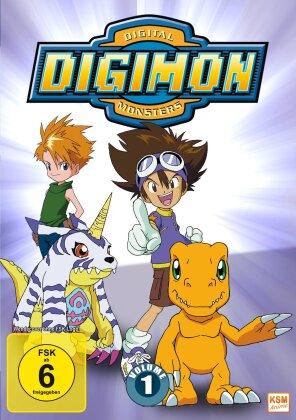 Digimon: Digital Monsters - Adventure - Staffel 1 - Vol. 1 (New Edition, 3 DVDs)