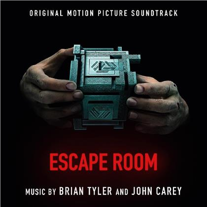 Brian Tyler & John Carey - Escape Room - OST (at the movies, Tranparent Red Vinyl, 2 LPs)