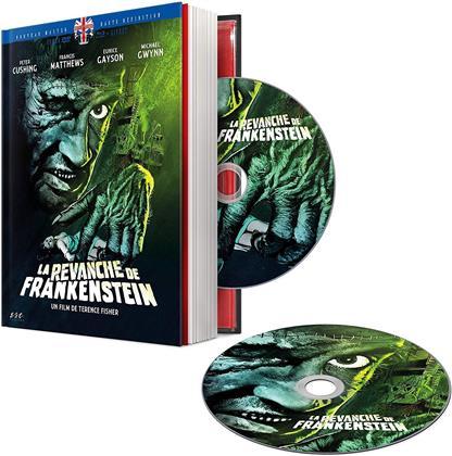 La revanche de Frankenstein (1958) (Mediabook, Blu-ray + DVD)