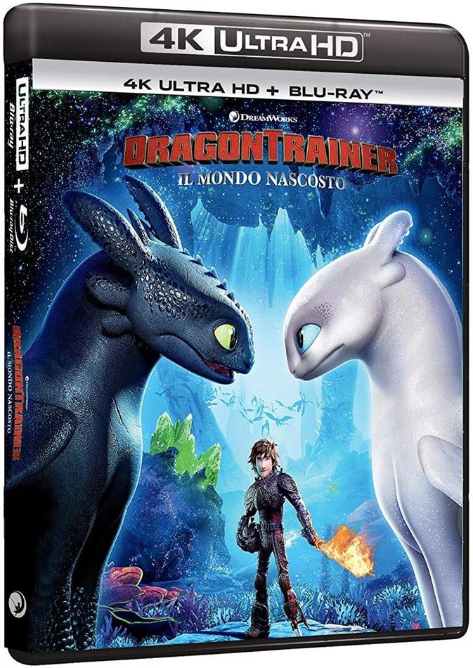 Dragon Trainer 3 - Il Mondo Nascosto (2019) (4K Ultra HD + Blu-ray)