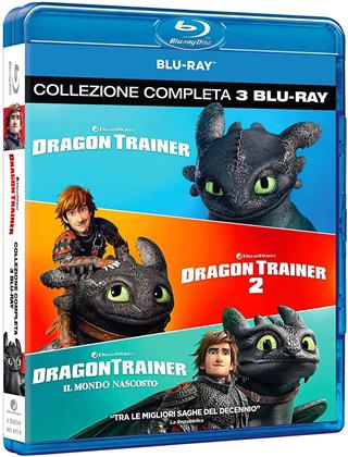 Dragon Trainer 1-3 (3 Blu-ray)