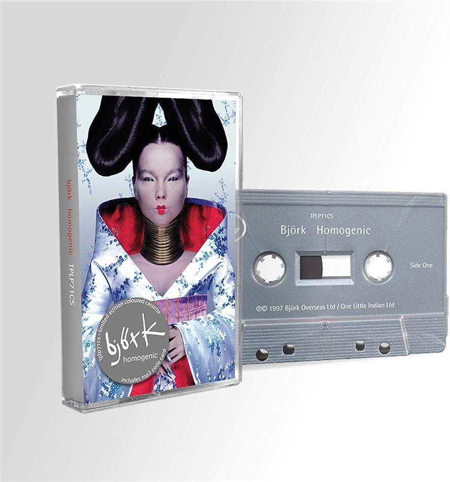 Björk - Homogenic - Direct Metal Mastering