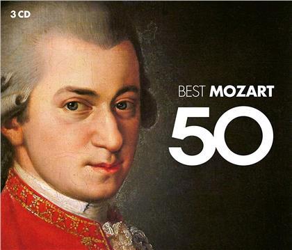 Wolfgang Amadeus Mozart (1756-1791) - 50 Best Mozart (2019 Reissue, 3 CDs)