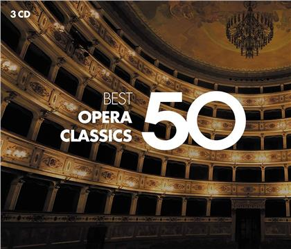 50 Best Opera (2019 Reissue, 3 CDs)