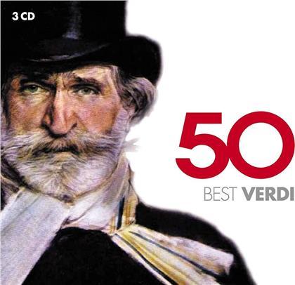 Callas / Carreras / Domingo / Freni & Giuseppe Verdi (1813-1901) - 50 Best Verdi (2019 Reissue, 3 CDs)