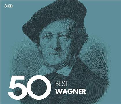 Richard Wagner (1813-1883) - 50 Best Wagner (2019 Reissue, 3 CDs)