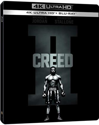Creed 2 (2018) (Limited Edition, Steelbook, 4K Ultra HD + Blu-ray)