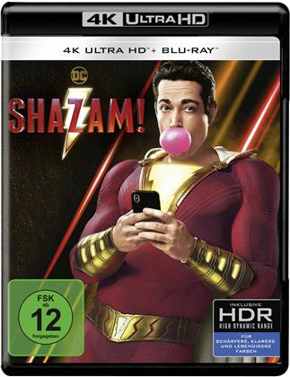 Shazam! (2019) (4K Ultra HD + Blu-ray)