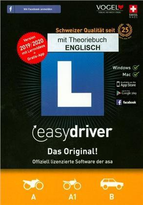 easydriver 2019/20 inkl. Theoriebuch Englisch