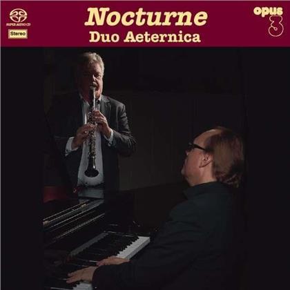 Duo Aeternica, Kjell Fageus & Love Derwinger - Nocturne (SACD)