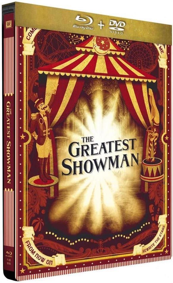 The Greatest Showman (2017) (Edizione Limitata, Steelbook, Blu-ray + DVD)