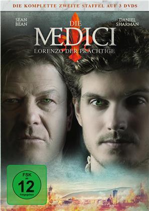 Die Medici - Staffel 2 - Lorenzo der Prächtige (3 DVDs)
