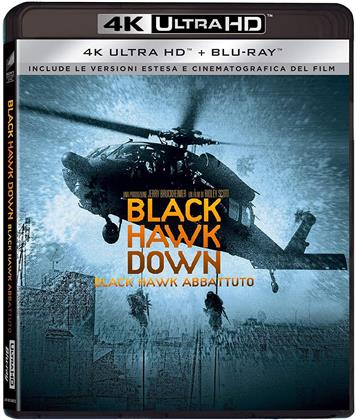 Black Hawk Down - Black Hawk Abbattuto (2001) (Extended Edition, Versione Cinema, 4K Ultra HD + Blu-ray)