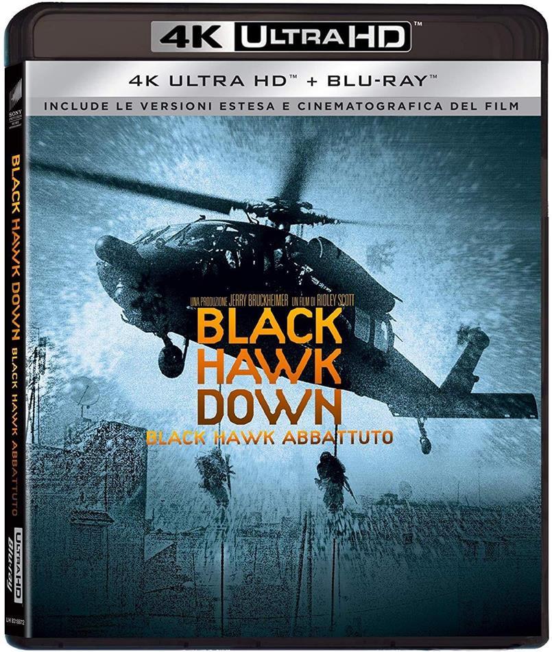 Black Hawk Down - Black Hawk Abbattuto (2001) (Extended Edition, Kinoversion, Neuauflage, 4K Ultra HD + Blu-ray)