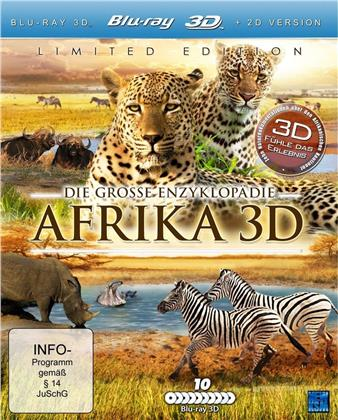 Die grosse Enzyklopädie - Afrika 3D (Limited Edition, 10 Blu-ray 3D (+2D))