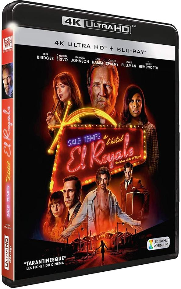 Sale temps à l'hôtel El Royale (2018) (4K Ultra HD + Blu-ray)