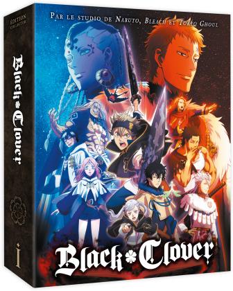 Black Clover - Saison 1 - Box 1/2 (4 DVDs)
