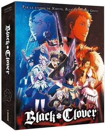 Black Clover - Saison 1 - Box 1/2 (4 Blu-rays)