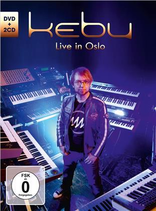 Kebu - Live In Oslo (Deluxe Edition, 2 CD + DVD)