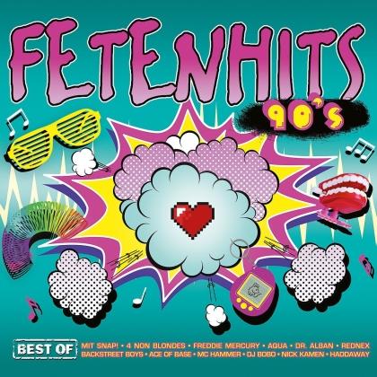 Fetenhits 90s - Best Of (2019 Reissue, 3 CD)