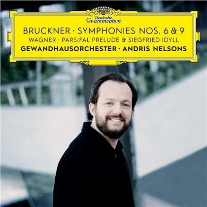 Anton Bruckner (1824-1896), Richard Wagner (1813-1883), Andris Nelsons & Gewandhausorchester Leipzig - Symphonies Nos. 6 & 9 / Siegfried (2 CDs)