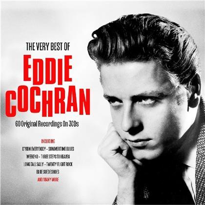 Eddie Cochran - Very Best Of (2019 Reissue, Not Now Edition, 3 CDs)