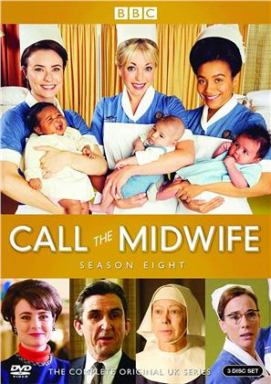 Call The Midwife - Season 8 (BBC, 3 DVD)