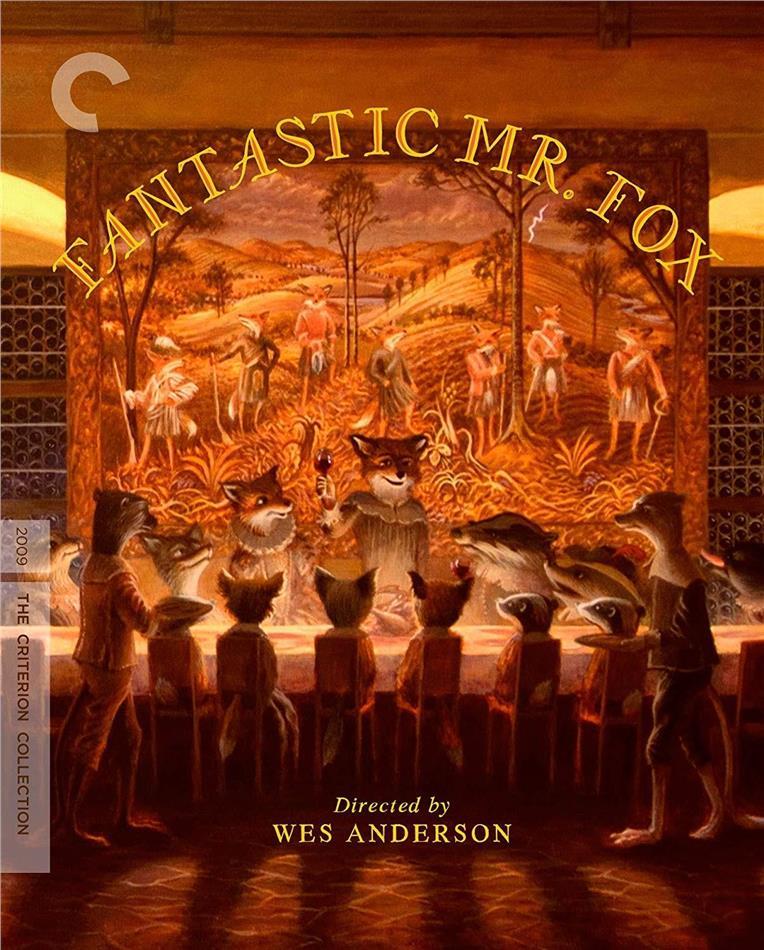 Fantastic Mr. Fox (2009) (Criterion Collection)