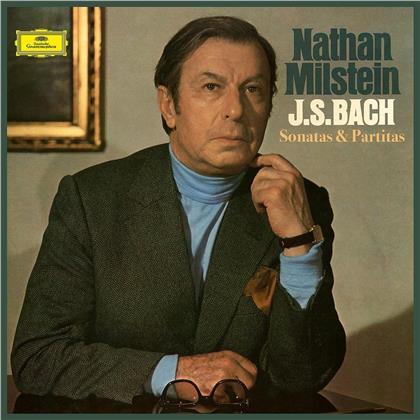 Johann Sebastian Bach (1685-1750) & Nathan Milstein - Sonate E Partite Per Violine (3 LPs)